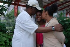 City family was so excited to see their daughter, who had a great time at Camp ABC, session 4.