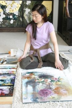 The first series of the documentary film about the popular water color artist Nagayama Yuko. With the illustrations by the artist herself, the film shows the process of painting roses, dahlia, glass, etc. The camera sneaks into the atelier of Nagayam. Watercolour Painting, Watercolor Flowers, Watercolor Japan, Watercolours, Chinese Drawings, Japanese Artists, Diy Arts And Crafts, Learn To Paint, Beautiful Artwork