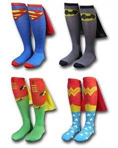 Supersocks... Supes or batman please<3