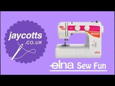 ▶ Elna Sew Fun - Sewing Machine - YouTube -some of the stiches shown (no explanations)