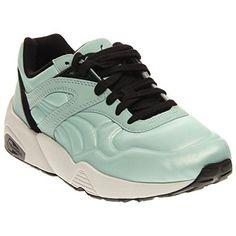 3873c4dfea9553 PUMA Womens Ignite PWR Cool Running Shoe Patina GreenSilver Metallic 9 B US  -- Learn