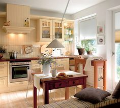Cozy And Warm Kitchen