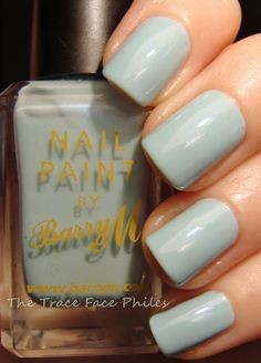 Barry M Blue Moon -favourite nail polish ever