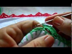BICO EM CROCHE FÁCIL PARA PANO DE PRATO - 09 - YouTube
