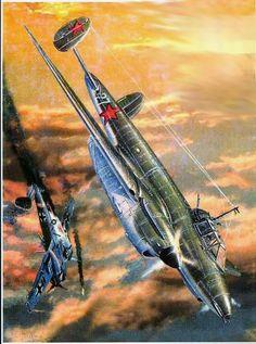 Ww2 Aircraft, Military Aircraft, Russian Air Force, Airplane Art, Vintage Air, Aviation Art, Military Art, Box Art, World War Two