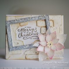 Stampin' Up!, Reason for the Season, Festive Flower Builder Punch, Christmas Card, スタンピンアップ, クリスマスカード