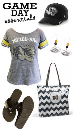 Find all your Game Day essentials at Rally House. Choose from any of our Missouri (Mizzou) Tigers shirts and accessories! Check out our women's selection online at http://www.rallyhouse.com/ncaa-missouri-tigers-womens.