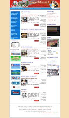 Website Sở Giáo Dục & Đào Tạo Tỉnh Đăk Lăk - Thiết kế web http://cnm.com.vn