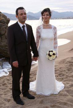 Robe de mariée et accessoires de la boutique Mariage en Rose