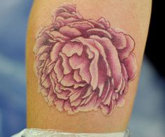 pink peony tattoo - Google Search