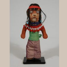 #adobegallery - Historic Mojave Clay Doll Figurine