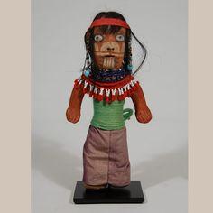 #adobegallery - Historic Mojave Clay Doll Figurine