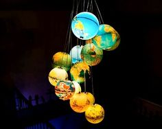 Globe chandelier !!!!