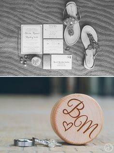 personalized wooden ring box for wedding bands, wedding details