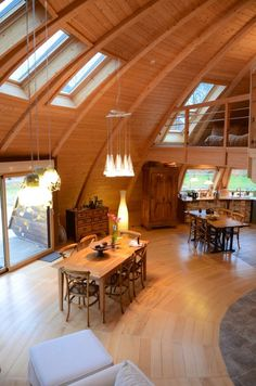 Architecture – Enjoy the Great Outdoors! Monolithic Dome Homes, Geodesic Dome Homes, Building Design, Building A House, Yurt Home, Quonset Hut Homes, Yurt Living, Dome Structure, A Frame Cabin