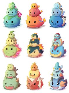 If Only These Pokemon Tsum Tsum were Real...