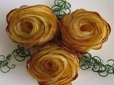 Rose di patate Fatte in casa,Ricetta finger food - YouTube
