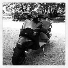 Aprilia habana #vintage #scooter almost like a #vespa