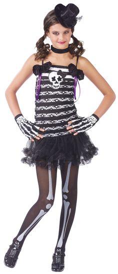 Teen Tween Junior Girls Baseball Player Sports Halloween Costume