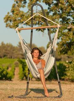 Hammock chair and suspension system ideas. #hammockchair