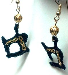 Sewing Machine Earrings by teresadelosh on Etsy