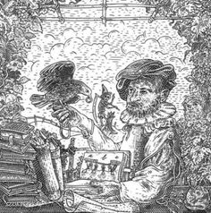 For a new edition of Ship of Fools, a late century satirical book by Sebastian Brant, Hungarian artist István Orosz has made these Medieval-inspired illustrations of skulls, each one an anamorphic illusion. Image Illusion, Illusion Art, Illusion Drawings, Anamorphic, Hidden Objects, Skull Face, Skull And Bones, Optical Illusions, Coloring Books