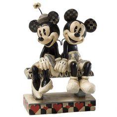 Retro Minnie & Mickey
