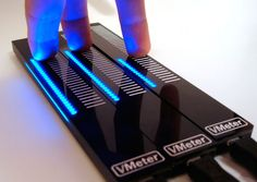 VMeter™ is a USB MIDI touch strip that provides nuanced musical control and visualization for DJs and other laptop musicians.