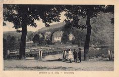 UB 004 - Blick zur Oberförsterei in die Brückhöfe 1905
