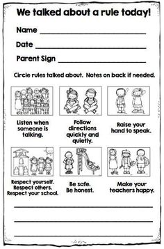 I Took My Behavior Chart Off My Wall! Great free parent note to let parents know how students did that day in school! Free from Simply Kinder!Great free parent note to let parents know how students did that day in school! Free from Simply Kinder! Kindergarten Behavior, Kindergarten Classroom Management, Classroom Rules, School Counseling, School Classroom, Classroom Ideas, Notes To Parents, Parents As Teachers, Parent Notes