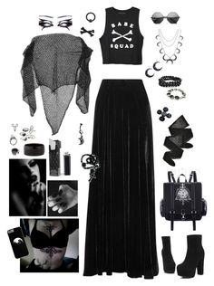 """""""Moon Bathing"""" by rstitch13 on Polyvore featuring Adele Fado, Etro, Mudd, The 2 Bandits, Yves Saint Laurent, Shamballa Jewels, Wolford, NEST Jewelry and Bling Jewelry"""