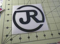 Japan Railways JR Logo JDM Racing | Die Cut Vinyl Sticker Decal | Sticky Addiction