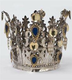 Norwegian bridal crown -------------------------- Западная Норвегия (окр. Бергена)