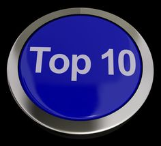 Top Ten Button Showing Best Rated In The Charts