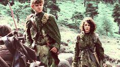 meera and jojen reed; born CRANNOGMEN, loyal DIREWOLVES