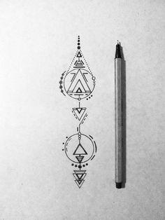 Line Tattoos, Body Art Tattoos, Vertical Tattoo, Simple Line Tattoo, Alchemy Tattoo, Line Geometry, Anubis Tattoo, Minimal Tattoo Design, Small Tats