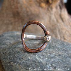 Semplici forme per un anello | Handmade by Beads and Tricks