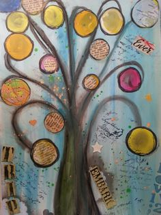 Asena Ozdemir - art journal, mixed media Planners, Stamping, Journaling, Decoupage, Mixed Media, Crafting, Table, Painting, Art