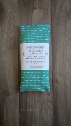 Mint Green Lavender Yoga Eye Pillow with by HASinspiration on Etsy, $12.50
