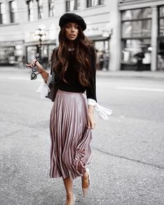 """1,782 Likes, 18 Comments - LIKEtoKNOW.it (@liketoknow.it) on Instagram: """"Bring the romance with hints of Parisian chic a la @janicejoostemaa's metallic pleats and delicate…"""""""