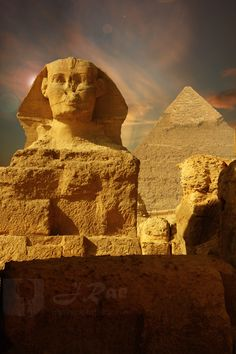 Great Sphinx at Giza - March 2012 cover of the Maadi Messenger