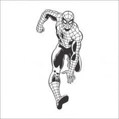 Adesivo Parede Homem-Aranha Correndo