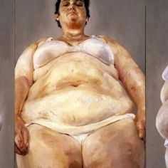 Portraying the grotesque in Jenny Saville's painting Jenny Saville Paintings, Women Artist, Body Image Art, Plus Size Art, Identity Art, A Level Art, Love Illustration, Creative Portraits, Old Art