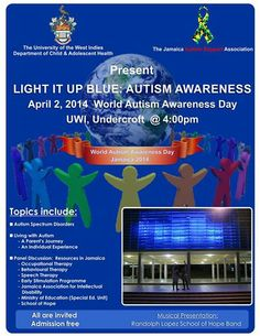 Autism Awareness Event.