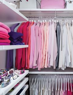 Rashid's fastidiously organized closet is a testament to his signature style.  Photo: Dean Kaufman