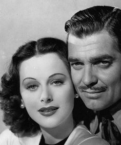 Hedy Lamarr and Clark Gable, Boom Town, 1940