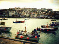 St Ives Harbour.