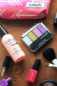 Realistic-Looking Pretend Makeup for Kids by Cutegirl Cosmetics