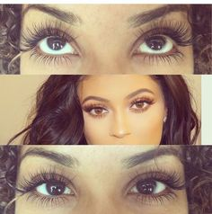 Maybe a tad long, but like the matching lower lashes