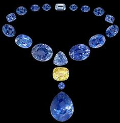 Image detail for -Natural Ceylon blue and yellow sapphires selected by a GIA-trained gemologist.